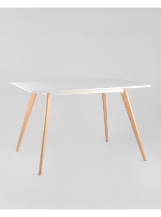Стол обеденный FRANK 120*80 Белый