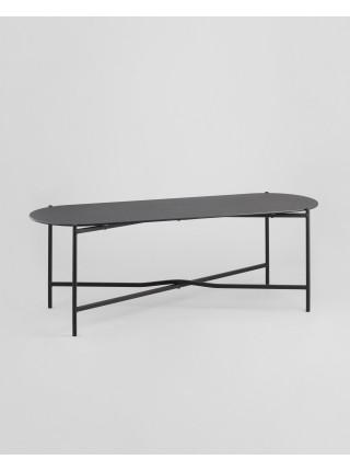 Журнальный столик Хименес стеклянный 120х40х40 см