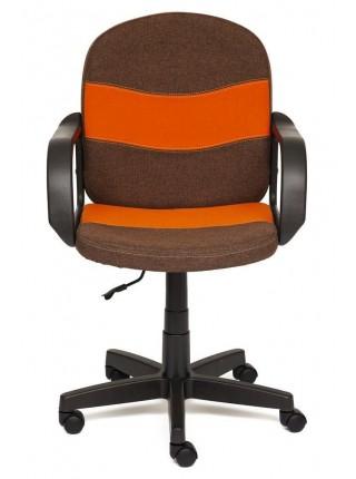 Кресло BAGGI Обивка: материал - ткань, цвет - коричневый+оранжевый (3М7-147+С23)