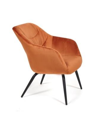 Кресло DREIFUS (mod. DM4284) металл, ткань, 66*74.5*82, оранжевый (70AC orange)