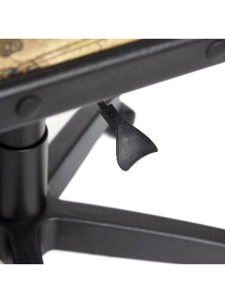 """Кресло BAGGI Обивка: материал - ткань, цвет -принт """"Карта на бежевом"""""""