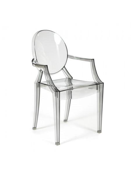 Кресло Secret De Maison MEDALION (mod. 922) пластик, 56,5*53,2*92,5см, серый