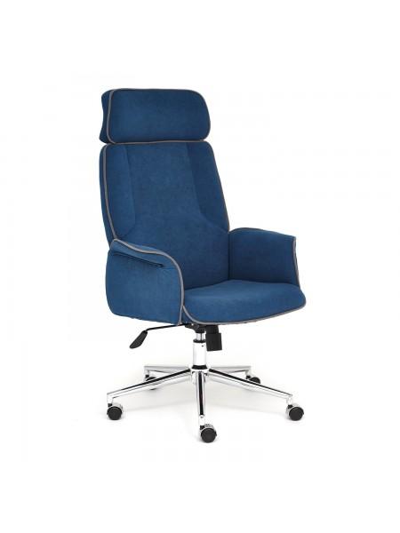 Кресло CHARM флок , синий, 32