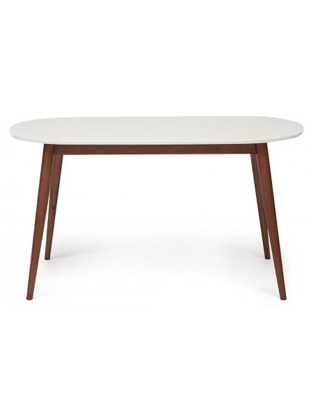 Стол обеденный MAX (Макс) Цвет: белый+коричневый