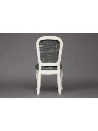 Cтул Secret De Maison Esmee ( mod.EE-SC ) Цвет: butter white (слоновая кость). Цвет обивки: французское письмо №F788-2