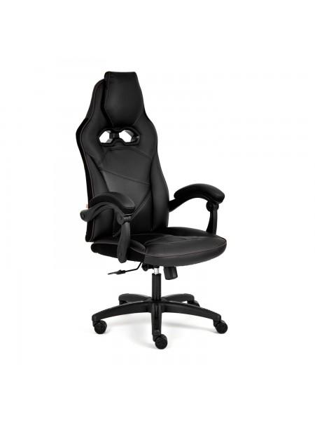 Кресло ARENA кож/зам, черный/черный карбон, 36-6/карбон черный