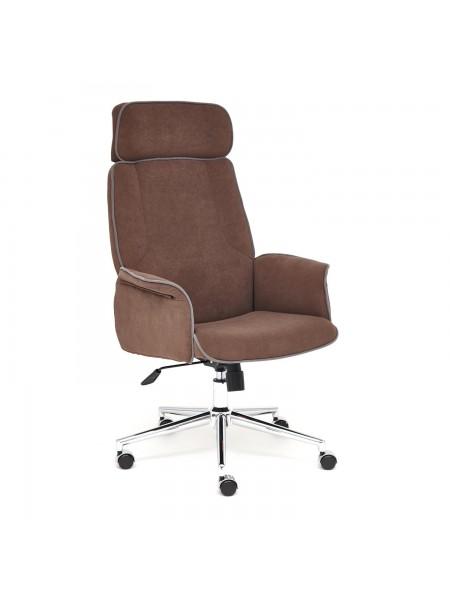 Кресло CHARM флок , коричневый, 6